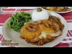 POLLO HAWAIANO, pollo con piña, fácil y delicioso - YouTube