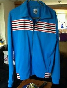 Casuals Umbro Hipster Slim Fit Tracksuit Top - Retro Vintage 80's