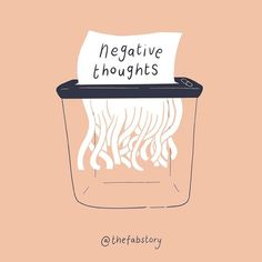Happy Thoughts, Positive Thoughts, Positive Quotes, Negative Thoughts Quotes, Positive Art, Self Care Bullet Journal, Self Care Activities, Mental Health Matters, Happy Words