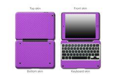 Purple Carbon Fiber #ClamCasePro #Pro #iPad #iPadMini #Apple #Tablet #Tablets #Computers #Keyboard #Gadget #Gadgets #Electronics #Electronic #Shield #Shields #Protector #Protectors #Decals #Skin #Skins #Wrap #Wraps #Vinyl #3M #CarbonFiber #Fibre #Red #Blue #Black #Graphite #VinylWraps #Chrome #CarbonFiber #Rvinyl  25% Off All Chrome Use code CHROME =============================== http://www.rvinyl.com/Chrome-Vinyl-Film-Wraps.htm