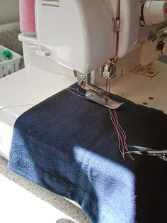 Stitches and Seams: Coverstitch: How To End A Coverstitch