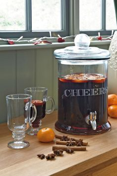 Mulled Wine Decanter...