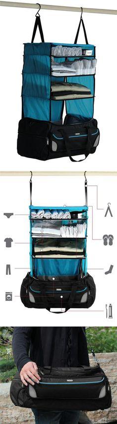 旅行必备的超级神器! The travel backpack secret.