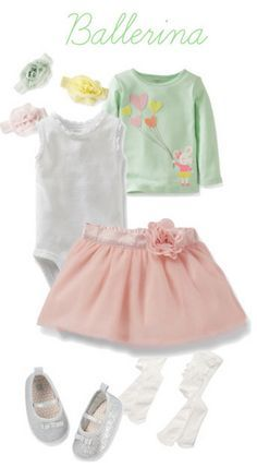 Got a little ballerina on your hands? I love this #CartersSpringStyle outfit for baby girls.