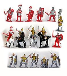 Plastic Toy Soldiers Roman Infantry and Auxiliary Painted... https://www.amazon.com/dp/B00R71OWPY/ref=cm_sw_r_pi_dp_x_6Hsryb6X49XFM