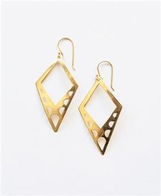 Arched Arrow Earrings - Noonday Collection