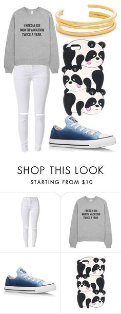 """""""Untitled #618"""" by sammi-mo ❤ liked on Polyvore featuring Converse and Madewell"""