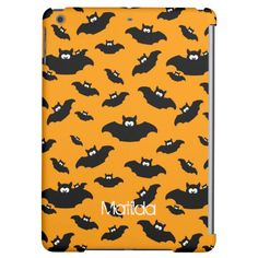 #cartoon #funny #bat with your name - #personalized #ipad #cover #case