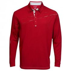 Ogio Defrost Longsleeve Golf Shirt Rio