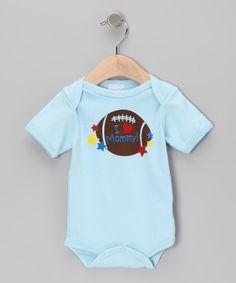Light Blue 'I Heart Mommy' Bodysuit