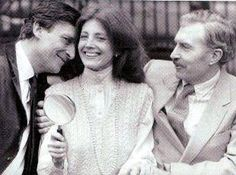 Jeremy Brett, Gayle Hunnicutt and David Burke from Scandal in Bohemia