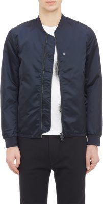 Men's Designer Coats Navy Bomber Jacket, Bomber Jackets, Barneys New York, Acne Studios, Man Shop, Coat, Fashion Design, Men, Outfits