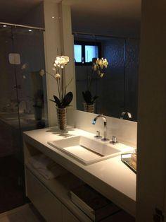 Banheiro suíte Master. @ligiaenicollearquitetura