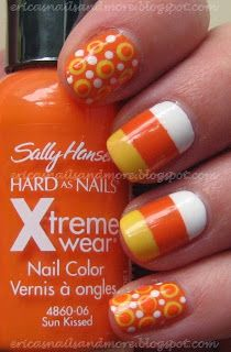 Erica's Nails and More: Hallowe'en Mani #3