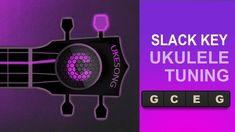 Slack Key Tuning Ukulele  G C E G Ukulele tuner Ukulele Tuning, Sewing Tools, Slacks, Fabric Crafts, Funny Pictures, Key, Celebrity Hairstyles, Tarts, Easy Meals