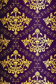 beautiful purple and gold pattern