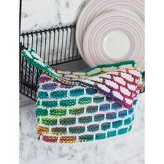 Brick Stitch Dishcloth