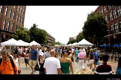 Great U.S. Farmers Markets.  The Des Moines farmers market (ranked #2) is one of my favorite summer activities!