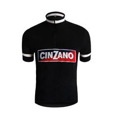 Cinzano Woolen Cycling Jersey Short Sleeve - Premium Italian Cycling Brands