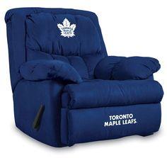 Toronto Maple Leafs Home Team Microfiber Recliner