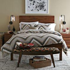 23 Modern Bedroom Designs: Simple Bed.