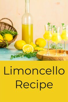 A sweet liquor with an intense lemon flavor and aroma, Limoncello brings back childhood memories of refreshing lemonade enjoyed on a sweltering day. It's a beautiful drink, its color the yellow of sunlight reflecting on the whitewashed buildings of the Mediterranean, where it is a local favorite. It is also remarkably easy to make yourself, and we're going to show you how! Limoncello Cocktails, Making Limoncello, Limoncello Recipe, Drinks Alcohol Recipes, Candy Recipes, Cocktail Recipes, Lemon Drink, Refreshing Summer Drinks, Earth
