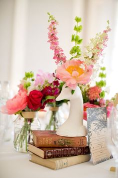 China wedding table decoration. Click on the image to see our full gallery of wedding table decorations and centrepieces.