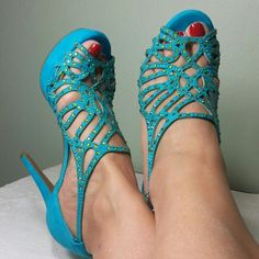 """Gianni Bini suede NWT NWT, turquoise suede with rhinestone. Size 5,5 it can fit for size 6. 4,5"""" heels. Great for prom. Smoke and pet free house. Gianni Bini Shoes Platforms"""