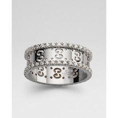2cc2988e0 Gucci Diamond Icon Ring now available at Keswick Jewelers in Arlington  Heights, IL 60005 www.keswickjewelers.com