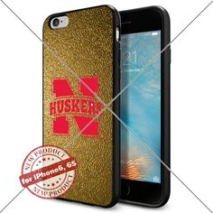 WADE CASE Nebraska Cornhuskers Logo NCAA Cool Apple iPhone6 6S Case #1357 Black Smartphone Case Cover Collector TPU Rubber [Gold] WADE CASE http://www.amazon.com/dp/B017J7M9PK/ref=cm_sw_r_pi_dp_263qwb10R0TR3