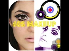 Sixties Basic Makeup Tutorial - YouTube