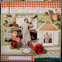 My Grandma by mandu - Cards and Paper Crafts at Splitcoaststampers