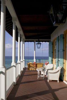 Rosemary Beach veranda, FL. Eric Watson Architect.