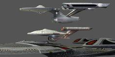 1701 Refit, NX-01 Refit & Soverign Class