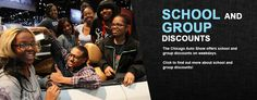 School and Group Discounts at the 2013 Chicago Auto Show
