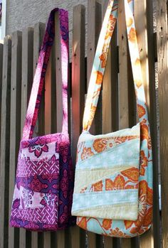 It's actually called the Zoe Messenger Bag - I have to make one for each of my girls!