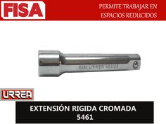EXTENSIÓN RIGIDA CROMADA 5461. Permite trabajar en espacios reducidos-  FERRETERIA INDUSTRIAL -FISA S.A.S Carrera 25 # 17 - 64 Teléfono: 201 05 55 www.fisa.com.co/ Twitter:@FISA_Colombia Facebook: Ferreteria Industrial FISA Colombia