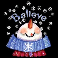 believe snowman | You are here: Home > Products > Believe In Snow Snowman – T-Shirt