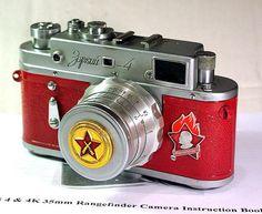1959 ZORKI-4 camera rare Russian LEICA  -from RussianVintage ♥♥♥