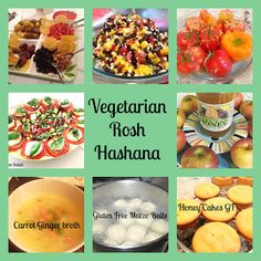 Vegetarian , Vegan and Gluten Free Rosh Hashana Recipes including great Matzo balls
