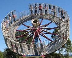 carnival rides pictures ~ feel like laundry on the clothesline!