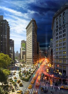WOW New York in day and night! - Flatiron building