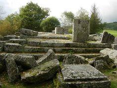 """ruines romaines """"Les Cars"""" Périgord. Aquitaine"""