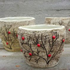 Hand Built Pottery, Slab Pottery, Glazes For Pottery, Pottery Mugs, Ceramic Pottery, Ceramic Birds, Ceramic Clay, Ceramic Light, Concrete Pots