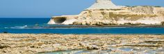 Marsalforn Hotels & Resorts, Online Booking for Accomodation in Malta - Modern Mediterranean Sea, Archipelago, Sicily, Hotels And Resorts, Malta, Perfect Place, Monument Valley, Island, Places