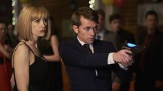 Miss Quill (Katherine Kelly) and Charlie (Greg Austin) -- Class.S01E01 - ''For Tonight We Might Die''  (Class - BBC3 Series) (Doctor Who - BBC Series) (BBC Three - Photo Gallery: Class - ''For Tonight We Might Die'') pic: http://www.bbc.co.uk/programmes/p04c0hn3/p04c0fgl episode page: http://www.bbc.co.uk/programmes/p048h1s0 BBC Three - Photo Gallery: Class - ''For Tonight We Might Die'' link: http://www.bbc.co.uk/programmes/p04c0hn3