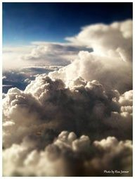 Above the clouds! :)