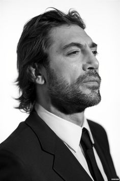 Javier Bardem.So much like Picasso's Minotaur. Wonderful actor, unconventionally handsome.