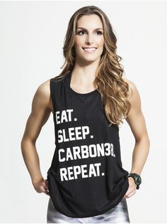 Eat, Sleep, Carbon38, Repeat Tank