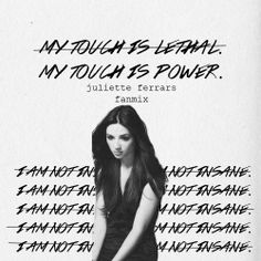 is Radio, rediscovered - Juliette Ferrars Fanmix () by aprilmxrble Shatter Me Warner, Shatter Me Series, I Will Fight, Saga, Romance, Music Memes, Book Memes, Book Aesthetic, Book Fandoms